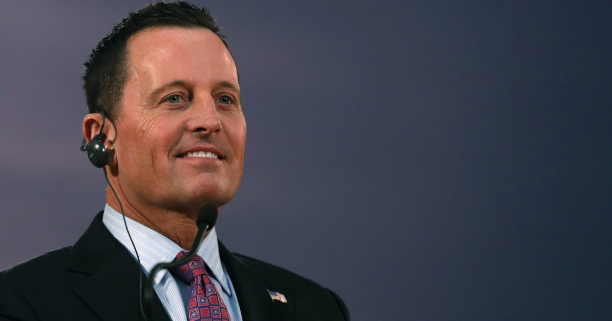 Trump expected to name Richard Grenell, not Utah...