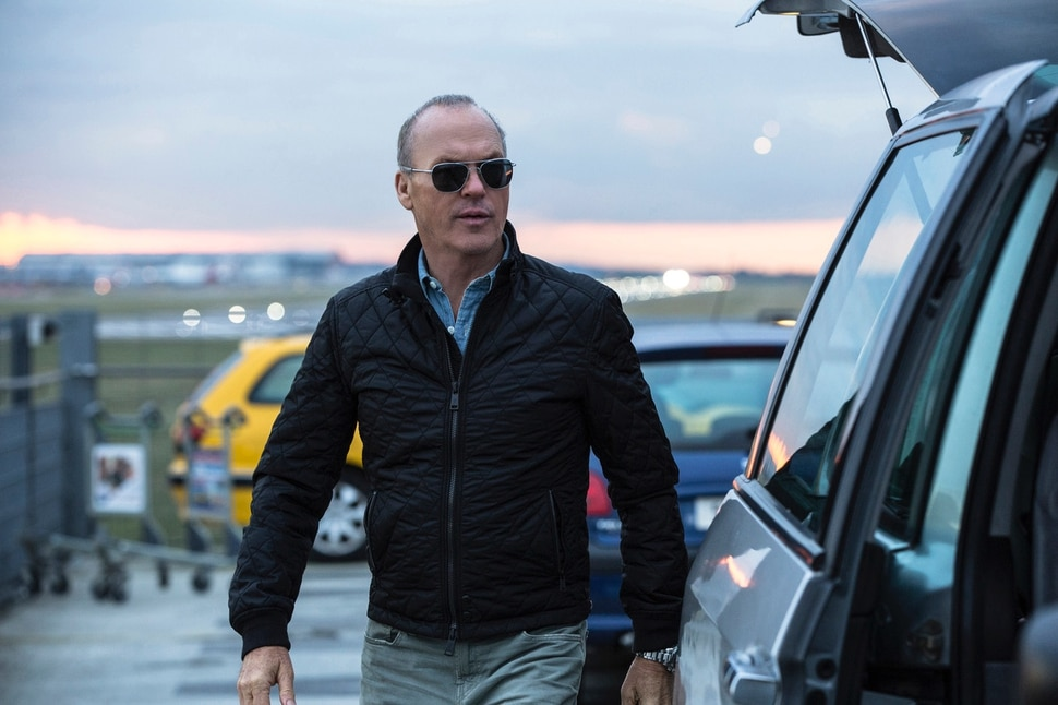 This image released by Lionsgate shows Michael Keaton in a scene from,