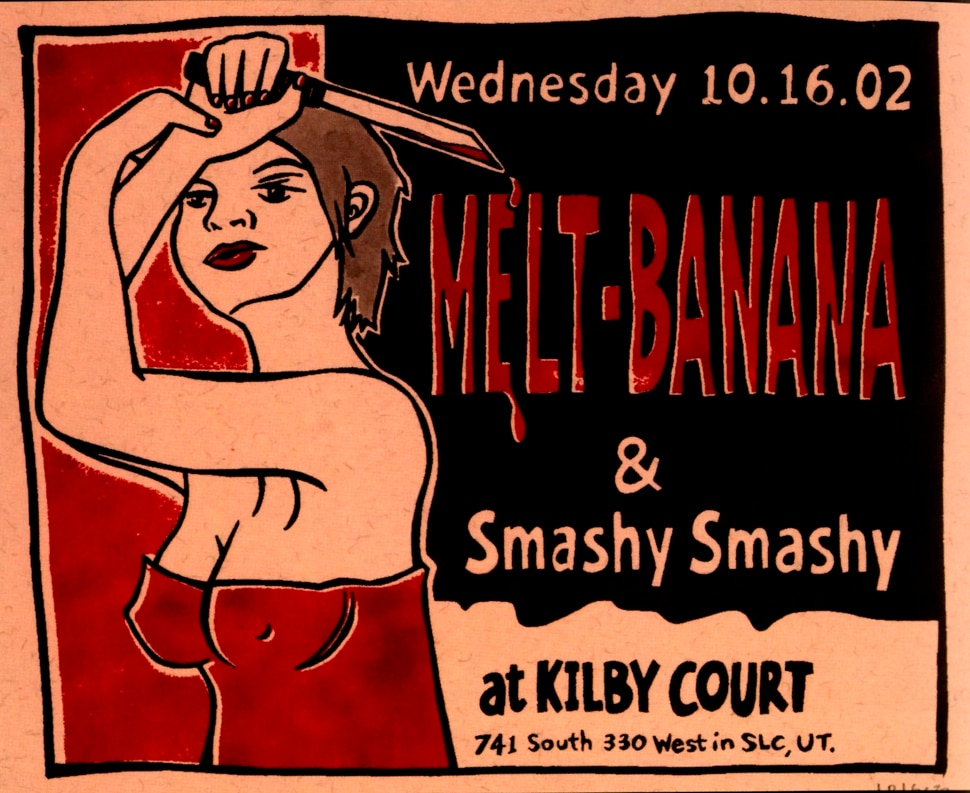 (Courtesy photo) A poster by Leia Bell promoting a show at Kilby Court.
