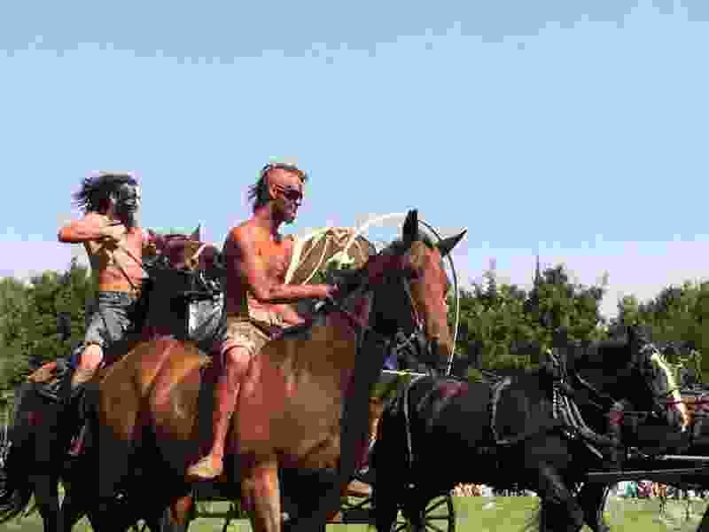 Northwest Shoshone, Wellsville city leaders discuss 'options' for the future of American Indian vs. Mormon settler 'Sham Battle'