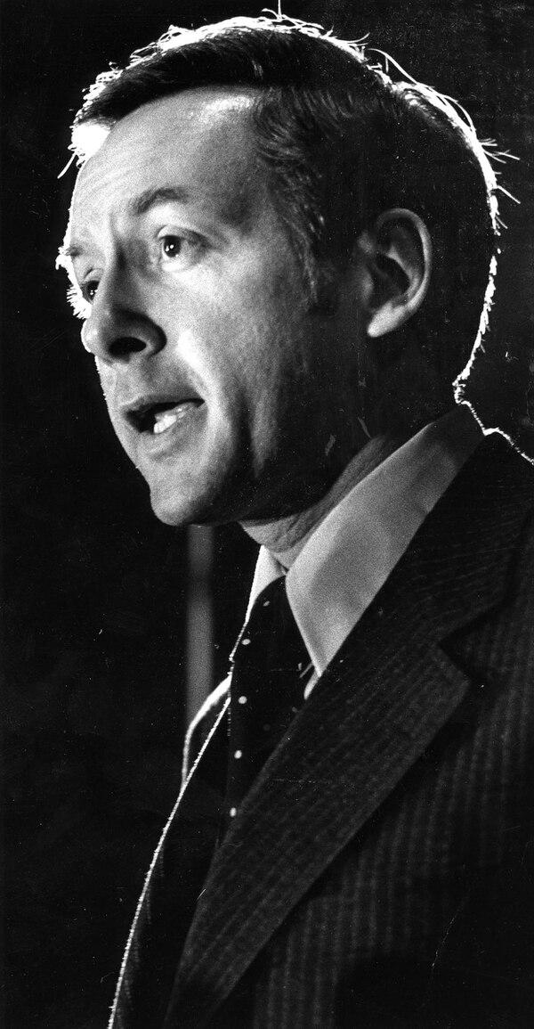 Senator Orrin Hatch ca. 1976. Credit: The Salt Lake Tribune Library