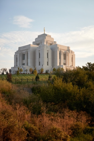 (Courtesy The Church of Jesus Christ of Latter-day Saints) The LDS Church dedicated their temple in Meridian, Idaho, on Sunday.