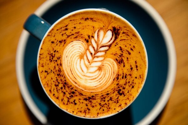 (Trent Nelson | The Salt Lake Tribune) Cappuccino at Campos Coffee Roastery and Kitchen in Salt Lake City, Friday, Aug. 31, 2018.