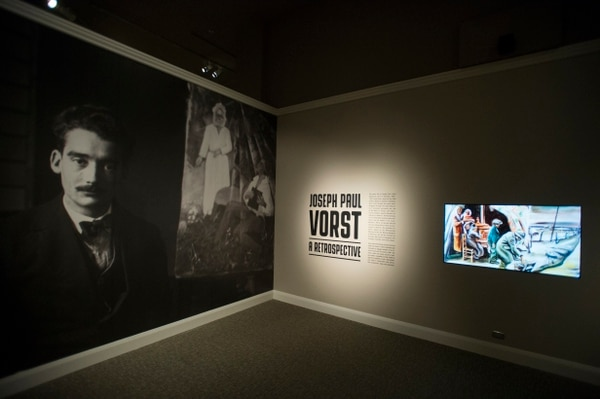 "(Rick Egan | The Salt Lake Tribune) The new exhibit titled: ""Joseph Paul Vorst: A Retrospective,"" will run from Nov. 9, 2017, through April 15, 2018, at the LDS Church History Museum. Thursday, Nov. 9, 2017."