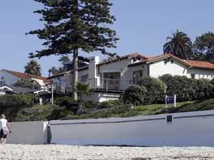 (Gregory Bull | AP) The Romneys' La Jolla, Calif., home photographed in 2013, which has since been renovated.