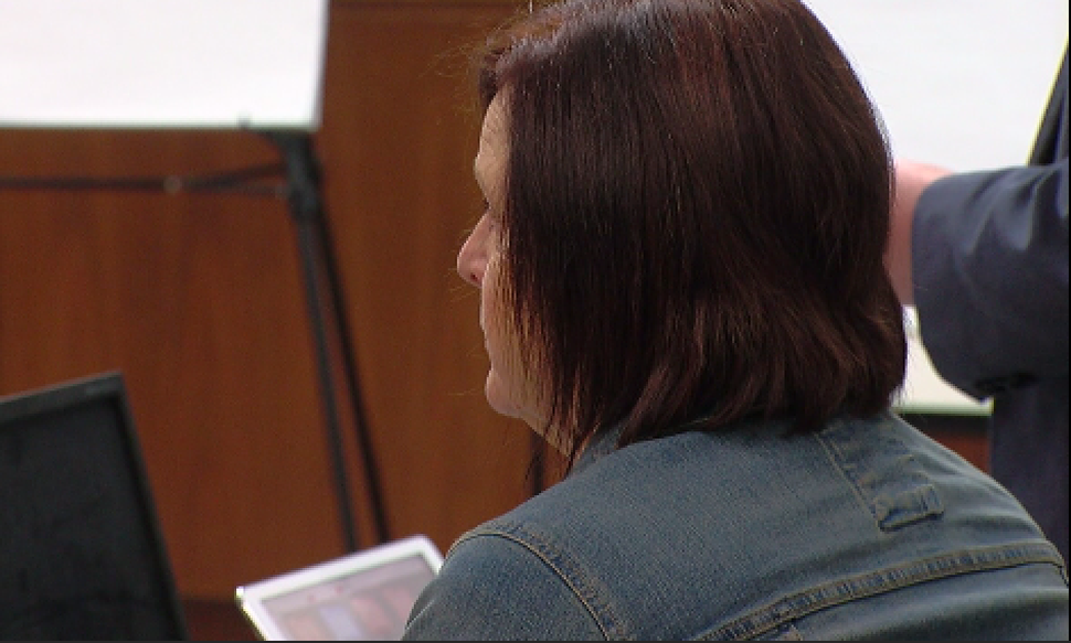 (Pool photo) Jane Clyde at a preliminary hearing in Duchense County, on Feb. 15, 2018.