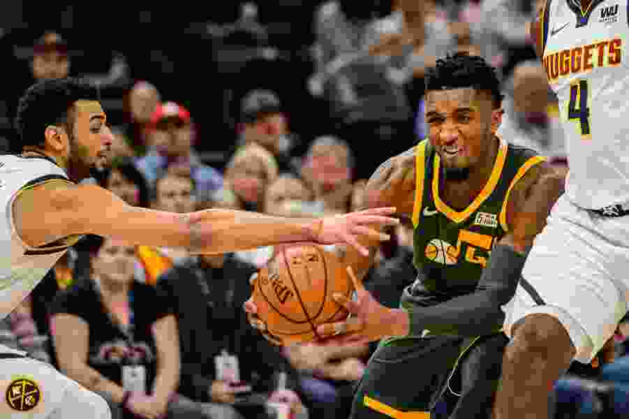 Jazz's Donovan Mitchell named to NBA's Rising Stars Challenge during All-Star Weekend