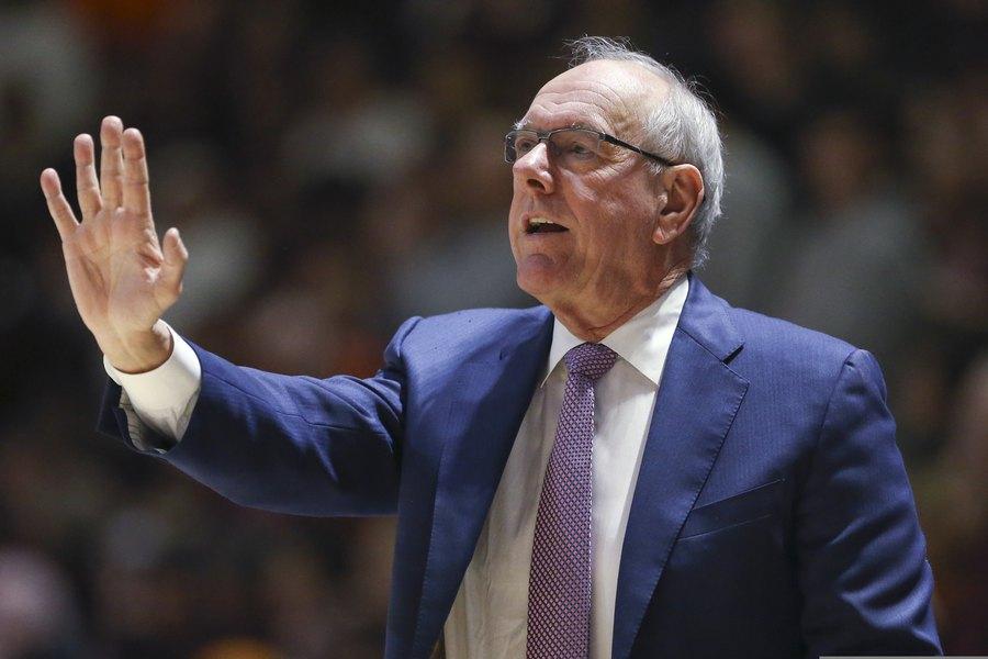 Police Syracuse Men S Basketball Coach Jim Boeheim Strikes And