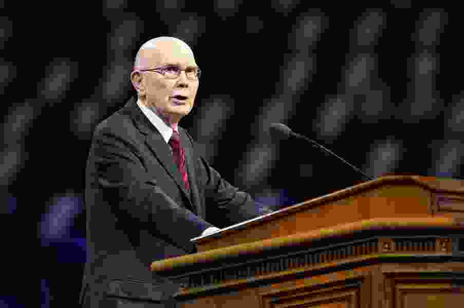 Black lives matter, LDS leader Dallin Oaks tells BYU audience, and is a cause all should support