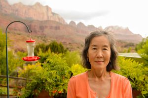 (Trent Nelson  |  Tribune file photo)  Sunny Lee at her home in Springdale, Friday May 8, 2015.
