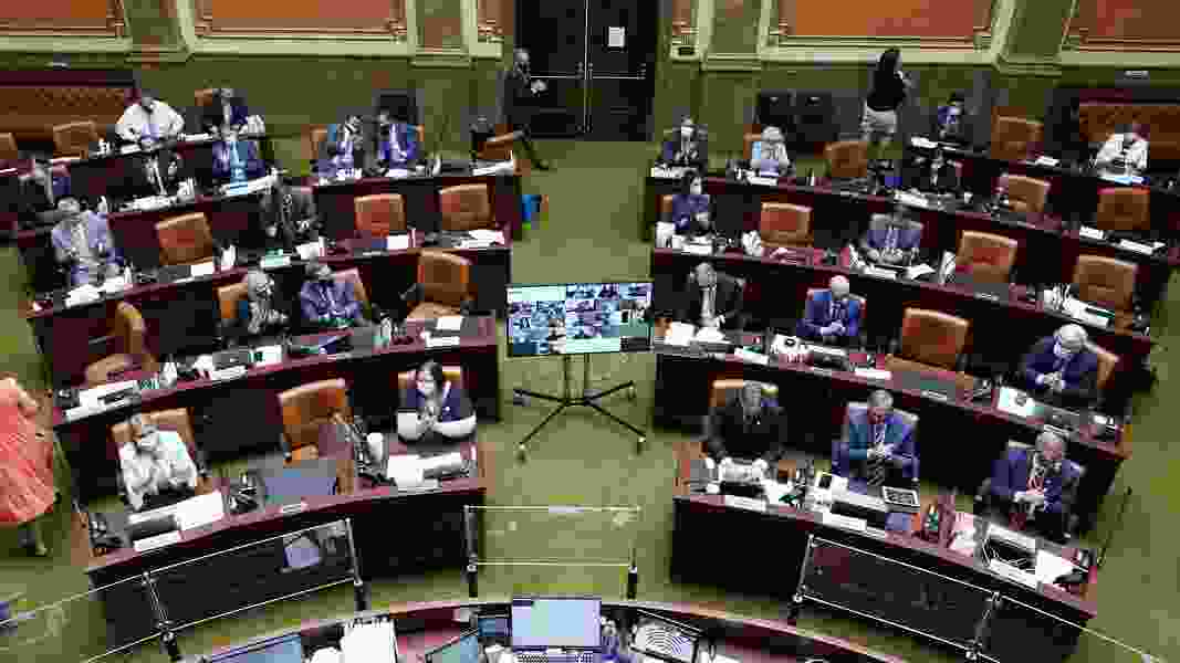 Utah Legislature will use rapid COVID-19 testing for lawmakers