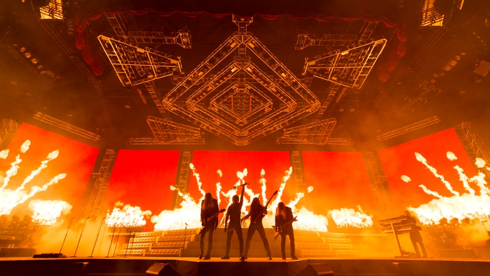 "(Photo courtesy Jason McEachern) Trans-Siberian Orchestra will do two performances of ""The Ghosts of Christmas Eve"" at Vivint Smart Home Arena in Salt Lake City on Tuesday, Nov. 21, 2017."