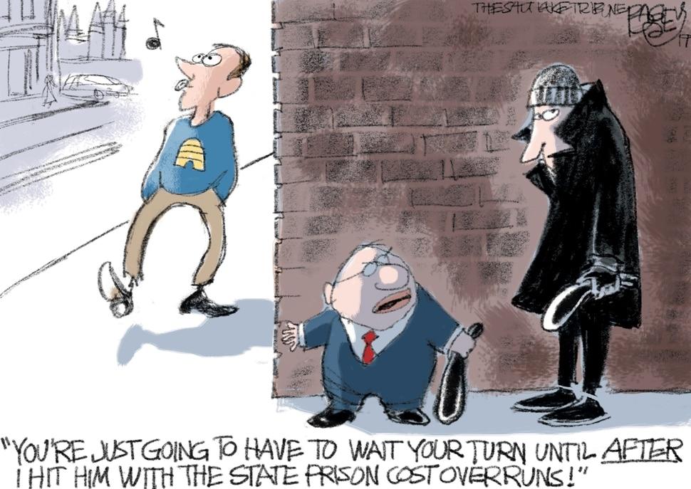 (Pat Bagley | The Salt Lake Tribune) This Pat Bagley cartoon appears in The Salt Lake Tribune on Sunday, April 7, 2019.