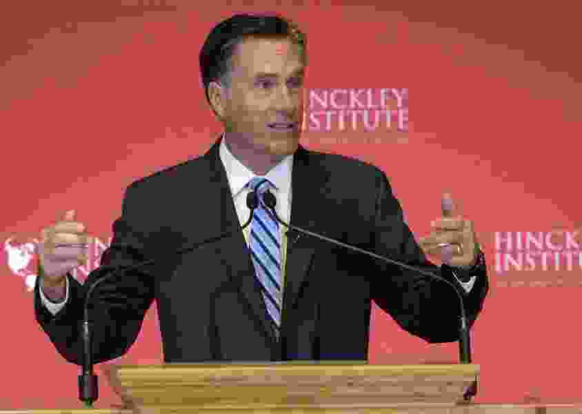 Will Mitt Romney now run for seat being vacated by Orrin Hatch?