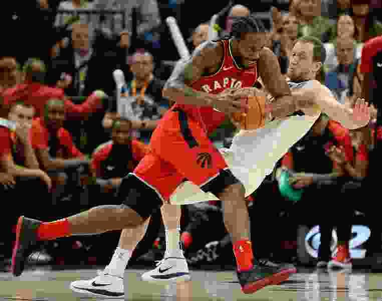 Toronto's Kawhi Leonard looks like his old self in preseason game against the Utah Jazz