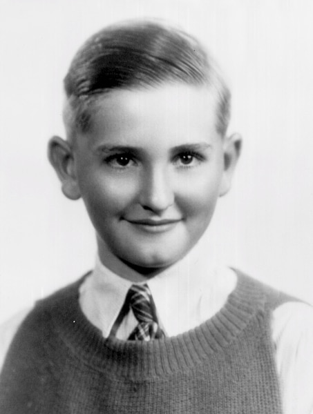 (Photo courtesy LDS Church) President Thomas S. Monson as a youth.