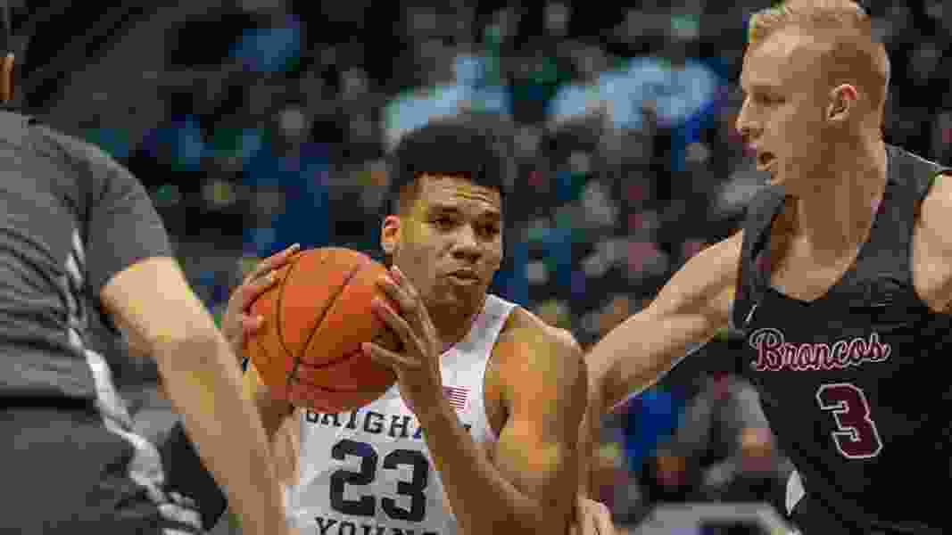 NCAA says BYU basketball star Yoeli Childs must miss first 9 games next season after snafu related to NBA Draft
