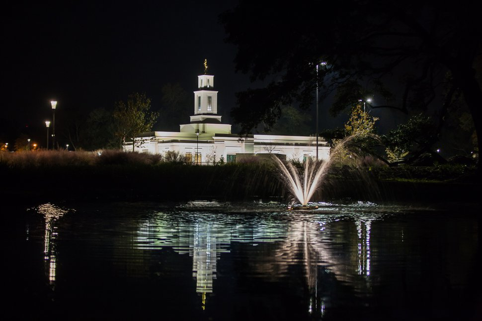 (Photo courtesy of The Church of Jesus Christ of Latter-day Saints) The renovated Baton Rouge Temple in Louisiana.
