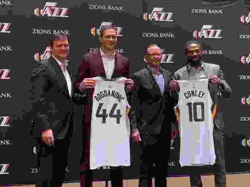 Utah Jazz GM Justin Zanik interviews with Chicago Bulls