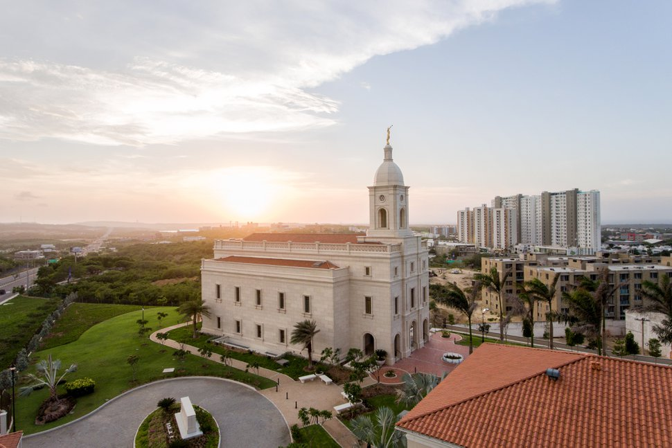 (Courtesy photo | The Church of Jesus Christ of Latter-day Saints) The Barranquilla Colombia Temple.