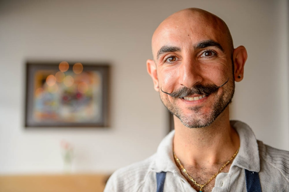 (Trent Nelson | The Salt Lake Tribune) Omar Abou-Ismail is the owner of Rawtopia Living Cuisine, a raw restaurant that recently moved to Millcreek.