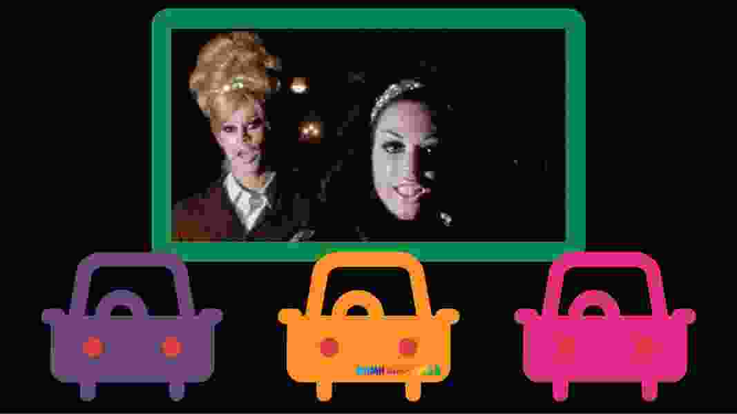 A Saturday pop-up drive-in movie kicks off the Damn These Heels Queer Film Festival, which is going virtual