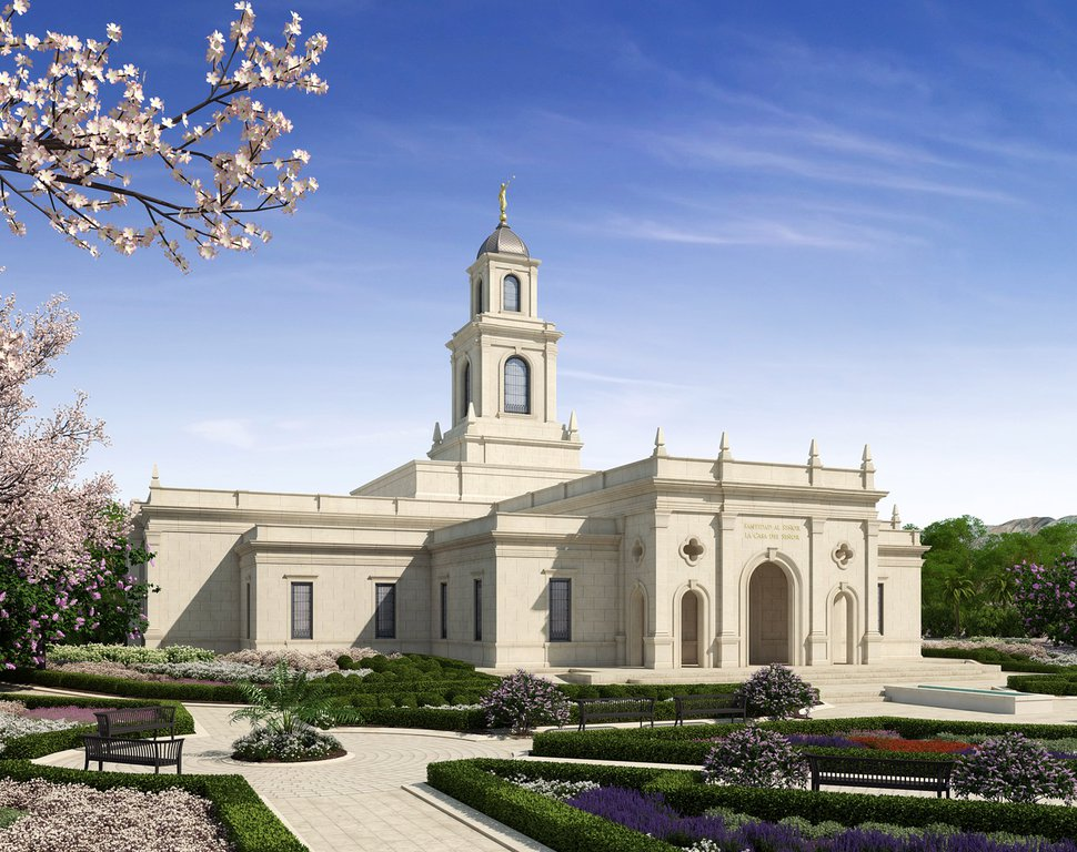 (Rendering courtesy of The Church of Jesus Christ of Latter-day Saints) A rendering of the Salta Argentina Temple.