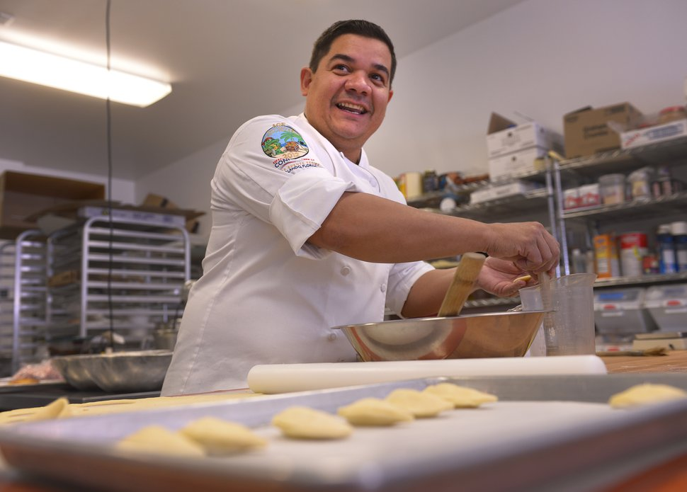 (The Salt Lake Tribune | Leah Hogsten) Adalberto Diaz Labrada, chef and owner of Fillings & Emulsions Bakery in Salt Lake City.