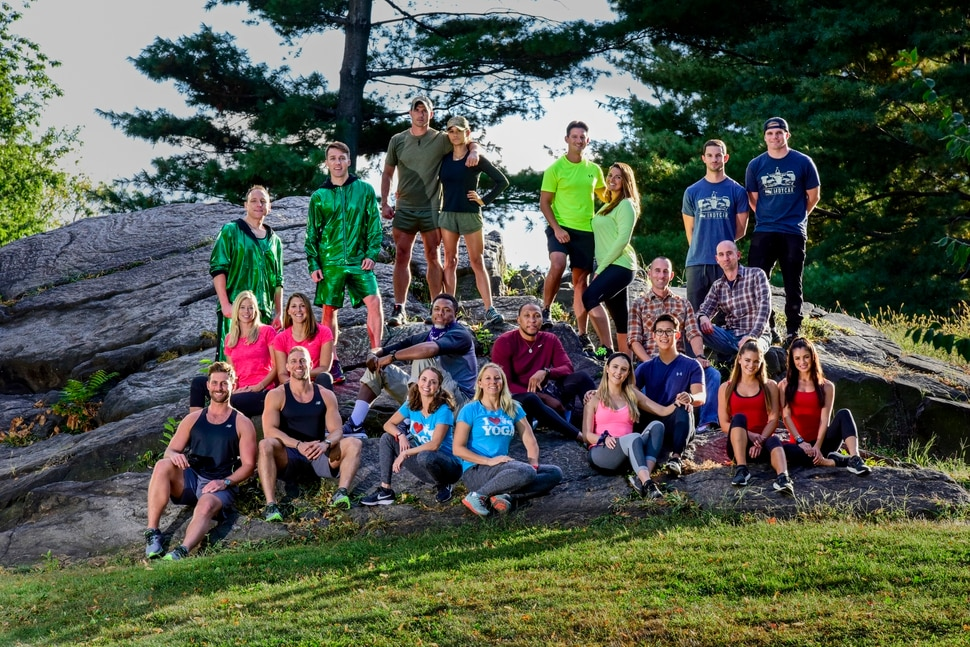 "(Photo courtesy of John Paul Filo/CBS) The contestants on Season 30 of ""The Amazing Race"" are, top row: Joey Jaws Chestnut and Tim Eater X Janus, Cody Nickson and Jessica Graf; Lucas Bocanegra and Brittany Austin; Alexander Rossi and Conor Daly. Middle row: Kristi Leskinen and Jen Hudak; Cedric Ceballos and Shawn Marion; Daniel and Eric Guiffreda. Bottom row: Trevor Wadleigh and Chris Marchant; April Gould and Sarah Williams; Evan Lynyak and Henry Zhang; Dessie Mitcheson and Kayla Fitzgerald."
