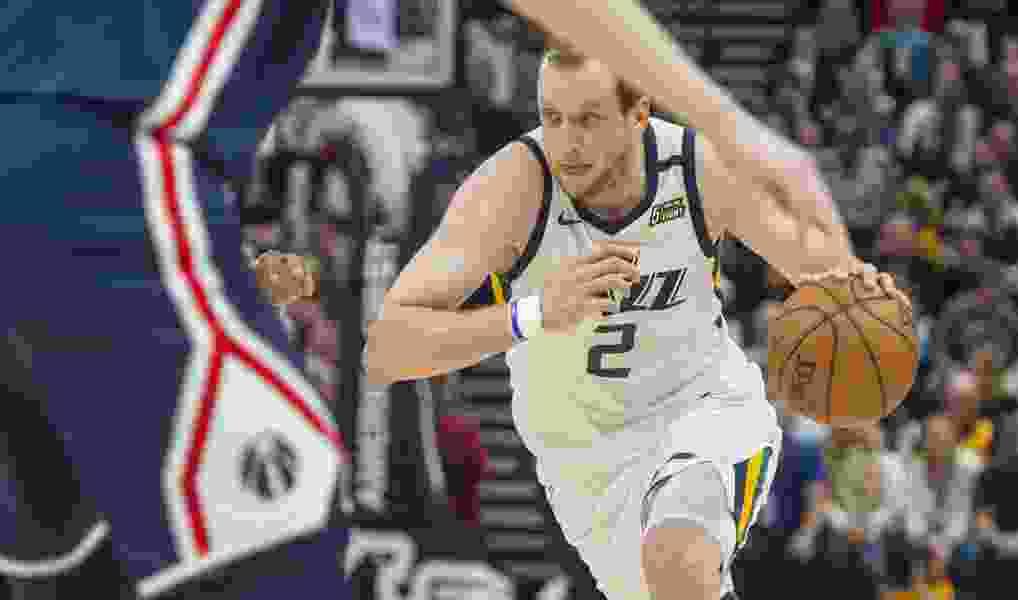 Utah Jazz forward Joe Ingles is pessimistic about re-starting the 2019-20 NBA season