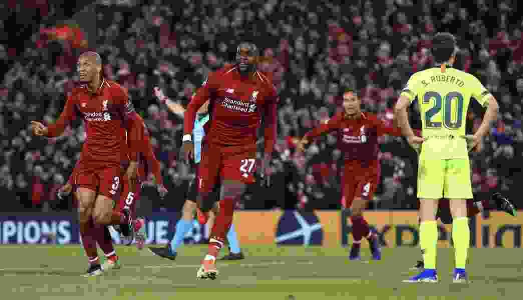 Liverpool stuns Barcelona 4-0 to reach Champions League final