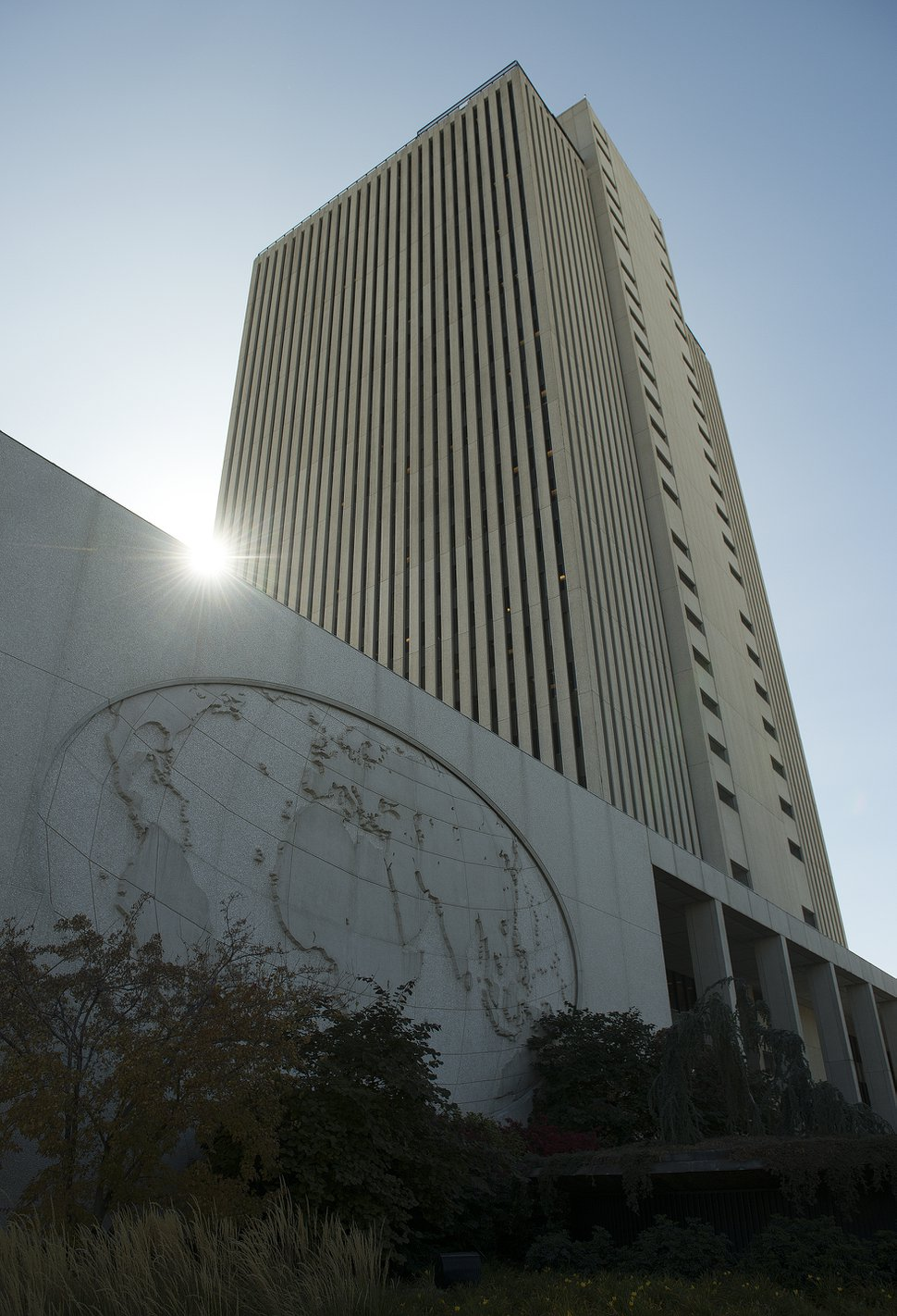 The Church Office Building, located at 50 E N Temple St, Salt Lake City, is home to the headquarters of The Church of Jesus Christ of Latter-day Saints.
