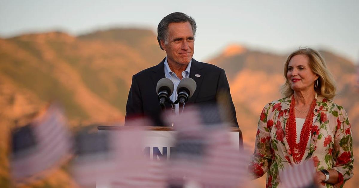 Mitt Romney wins the GOP nomination in Utah's U.S. Senate race