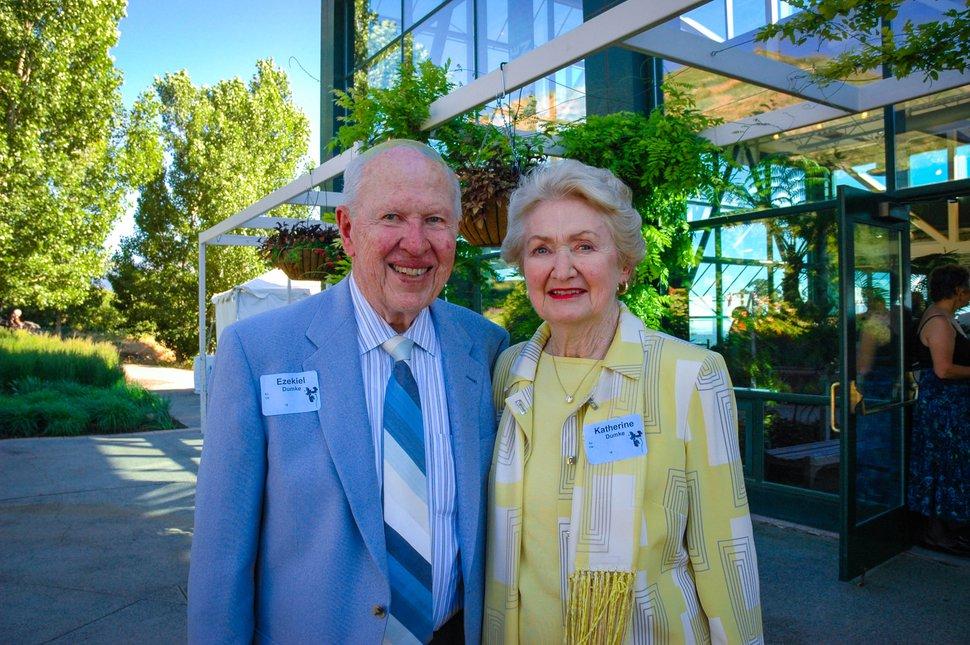 (Courtesy of Red Butte Garden) Prominent Utah philanthropist Ezekiel