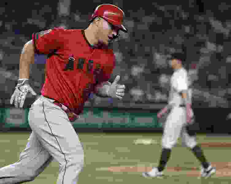 MLB roundup: Mike Trout gets five hits as Angels beat Yankees 11-4