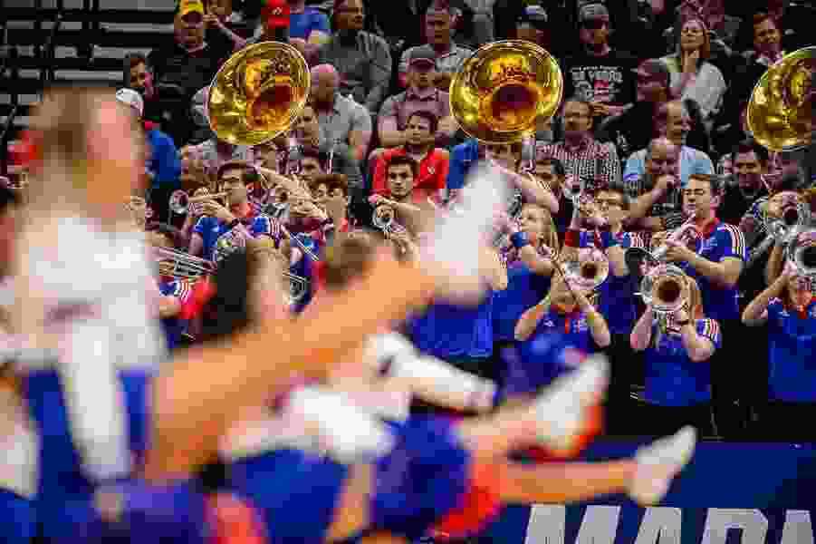 Can't stop the music: Pep bands in Salt Lake City for March Madness are the heart and soul of the NCAA Tournament experience
