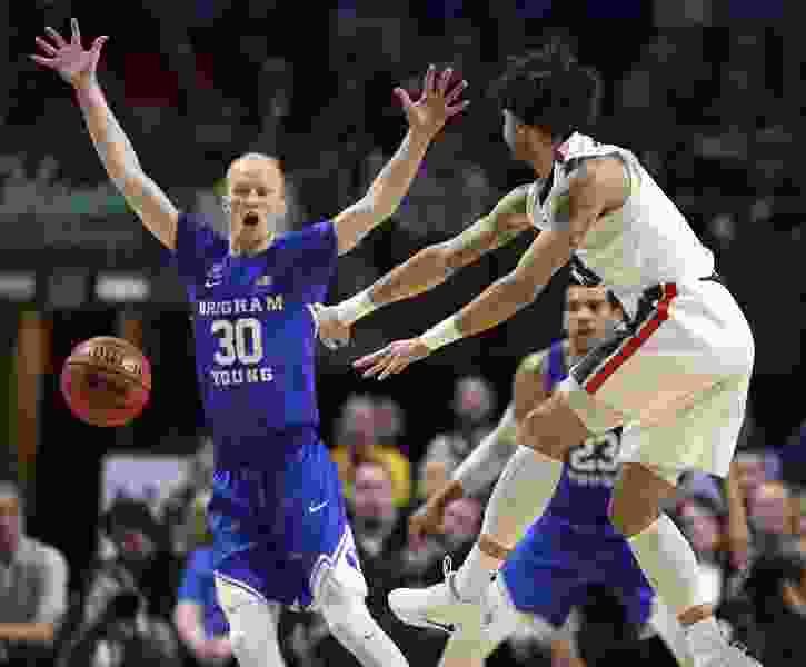 BYU names Luke Worthington, TJ Haws basketball team captains on eve of exhibition opener against St. Martin's at Marriott Center