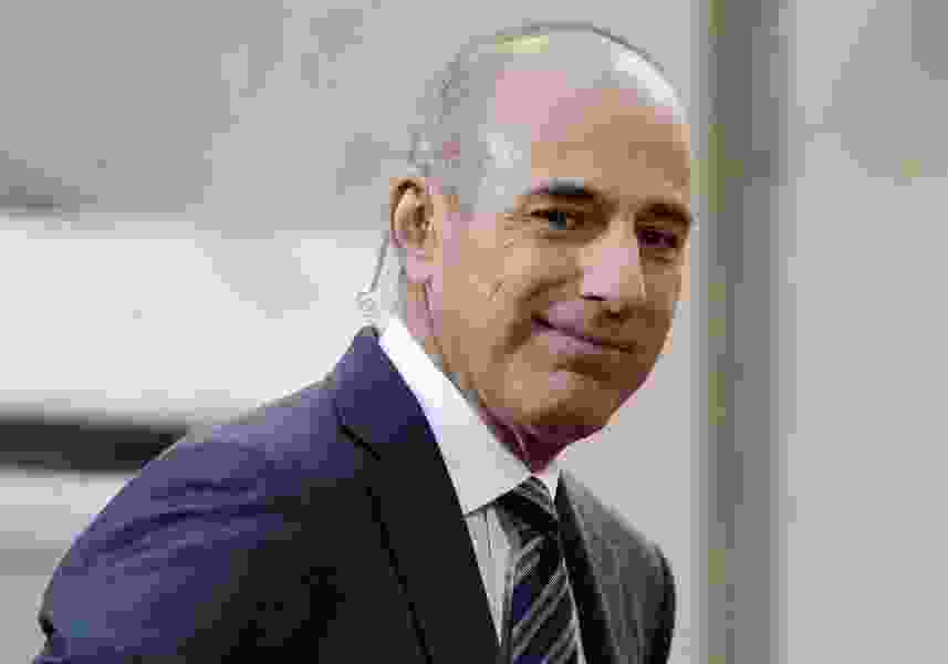 'To the people I have hurt, I am truly sorry': Matt Lauer releases statement to 'Today'