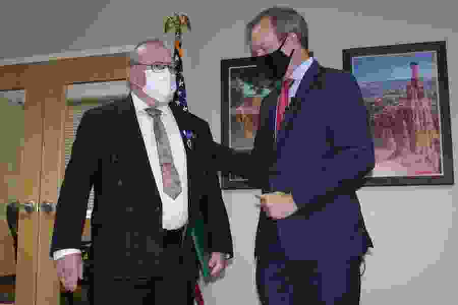Half-century after battle in Vietnam, Utahn finally gains Purple Heart recognition