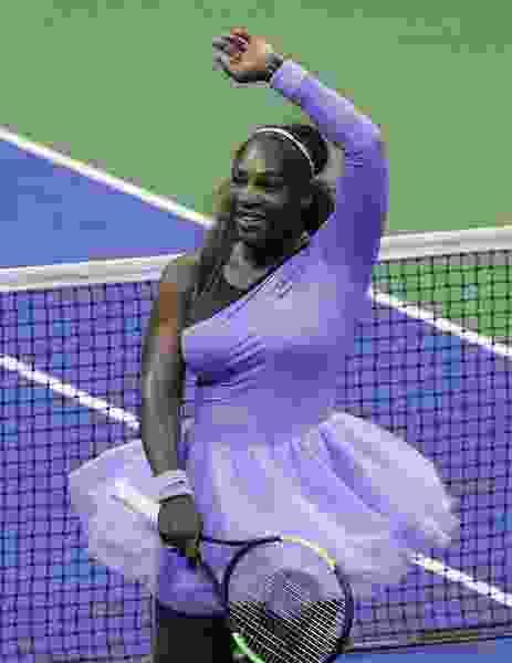Net gain: Serena Williams reaches her ninth U.S. Open final