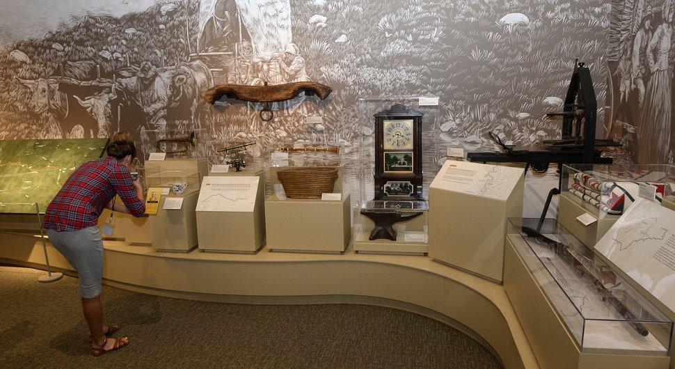 Al Hartmann   The Salt Lake Tribune Historical items on dispaly in