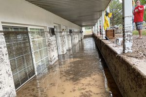 (Cinder Player | Special to The Tribune) The southern Utah towns of Cedar City, Enoch, and Hanksville have been hit with at least six-foot flood waters, and community members there still feel the impacts of these floods days after experiencing these local disasters.