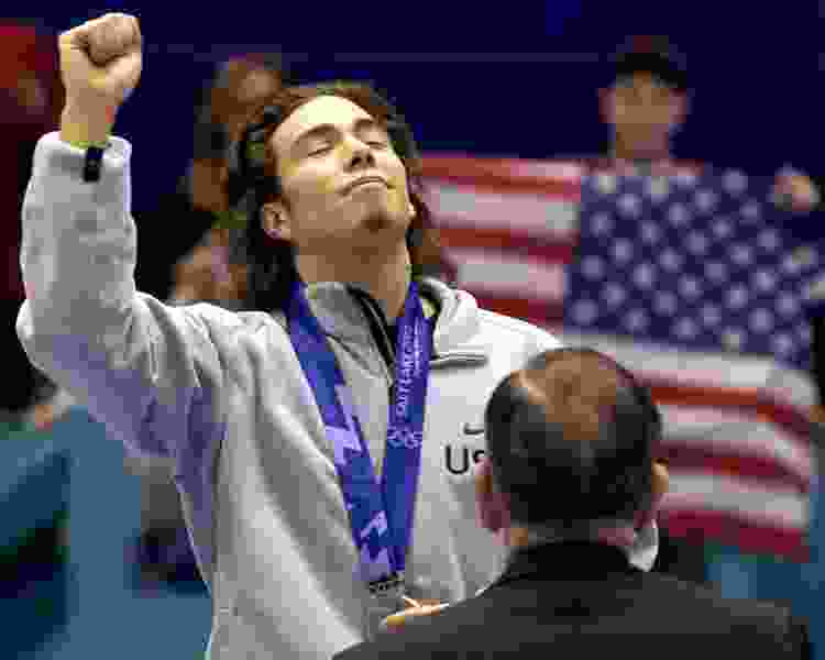 Scott D. Pierce: Apolo Ohno headed for South Korea, where they hate him