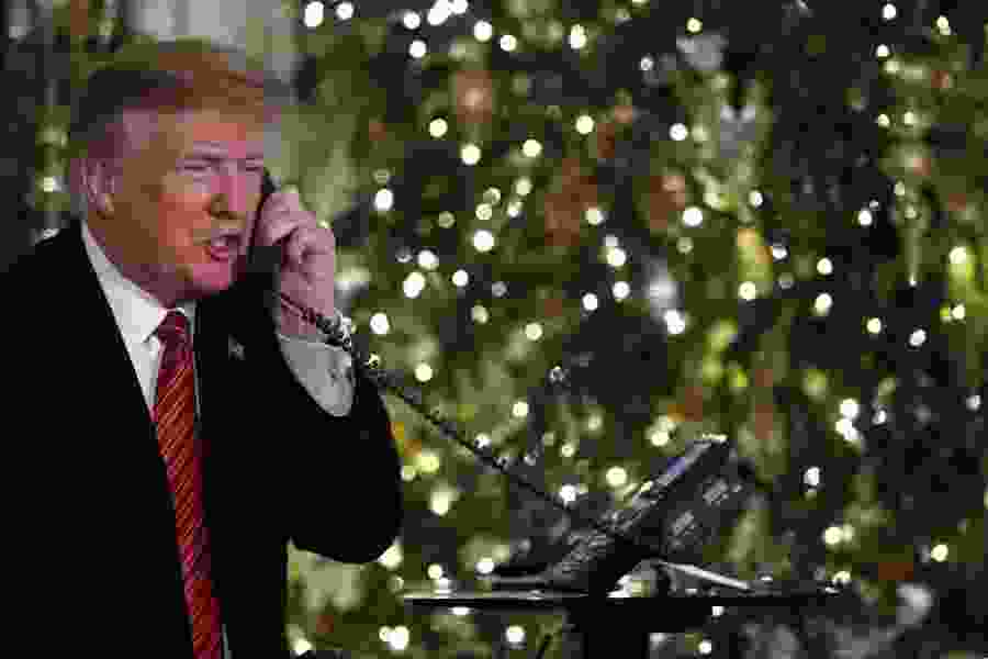 7-year-old who spoke to Trump about Santa still believes