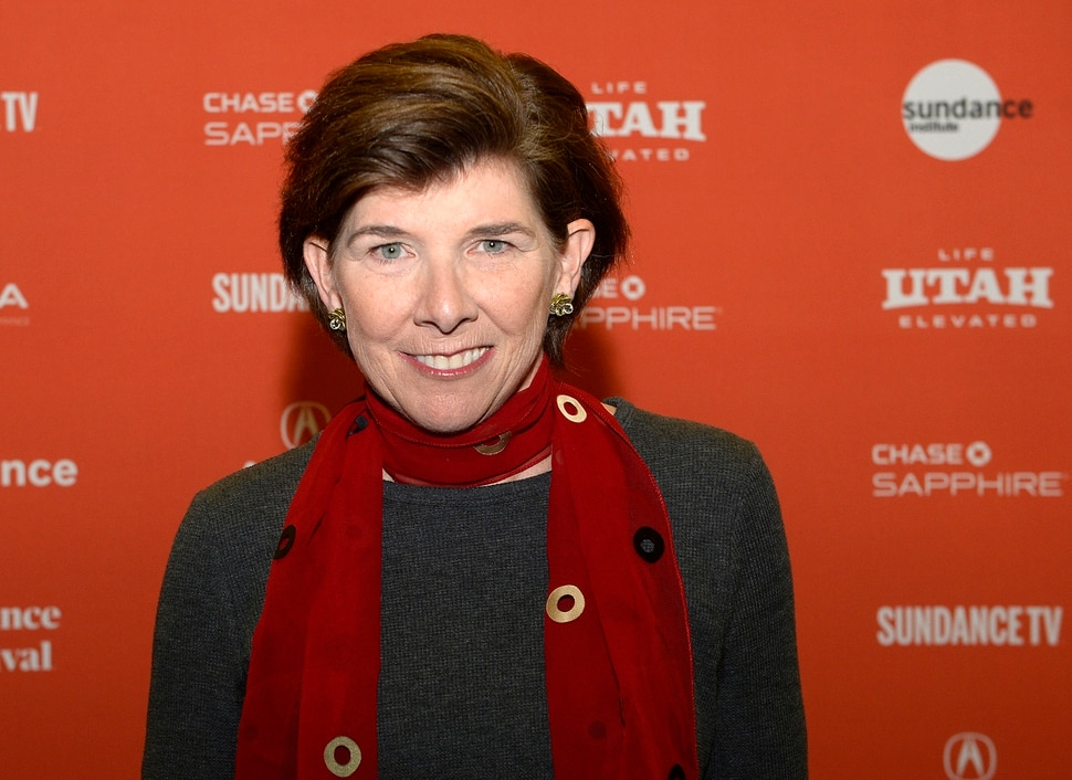 (Al Hartmann | The Salt Lake Tribune) Director Jenny Mackenzie attends the 2018 Sundance premiere Jan. 21, of documentary Quiet Heroes, celebrating Dr. Kristen Ries and physician's assistant Maggie Snyder, who were the first and, for a while, the only medical professionals to treat HIV/AIDS patients in Utah.