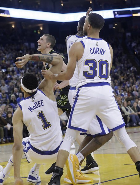 hot sale online bb971 1015d Warriors  Steph Curry hopes to prove coach wrong by returning for first  round of playoffs