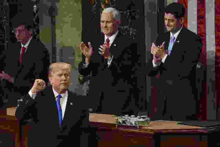 President Trump falsely claims record viewership for his State of the Union address