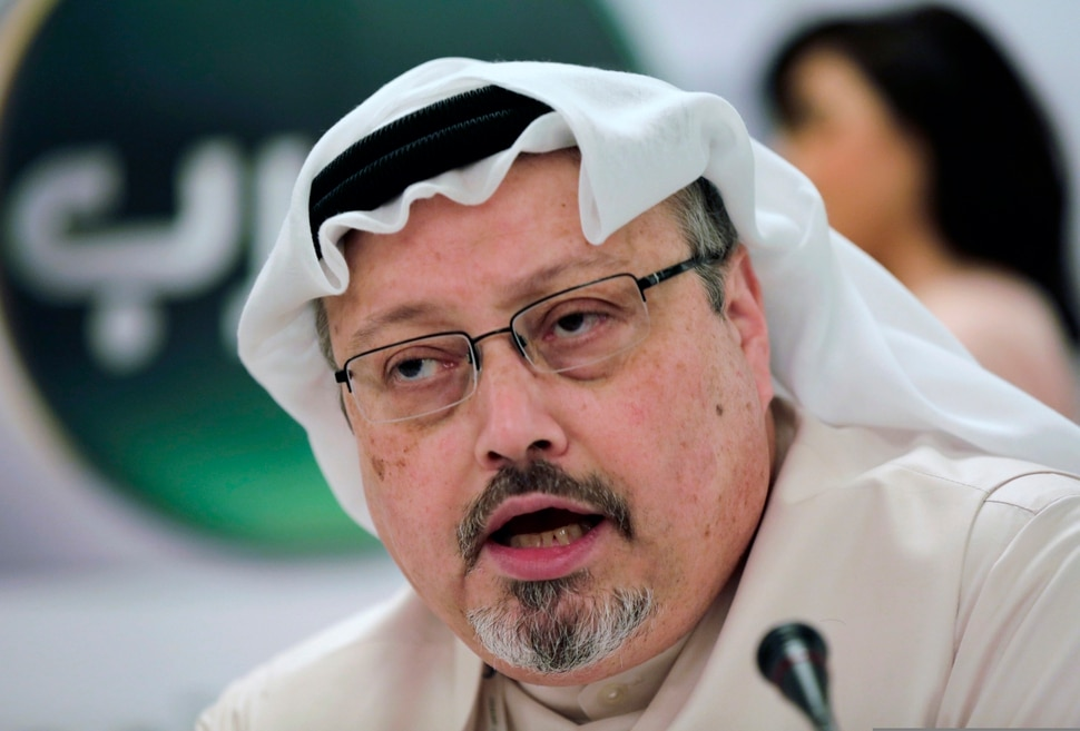 (Hasan Jamali | Associated Press file photo) Saudi journalist Jamal Khashoggi, seen here in 2014, is the subject of two documentaries slated for release in fall 2020: Kingdom of Silence, debuting on Oct. 2 on Showtime, and The Dissident, which premiered at the 2020 Sundance Film Festival and will be released sometime this fall.