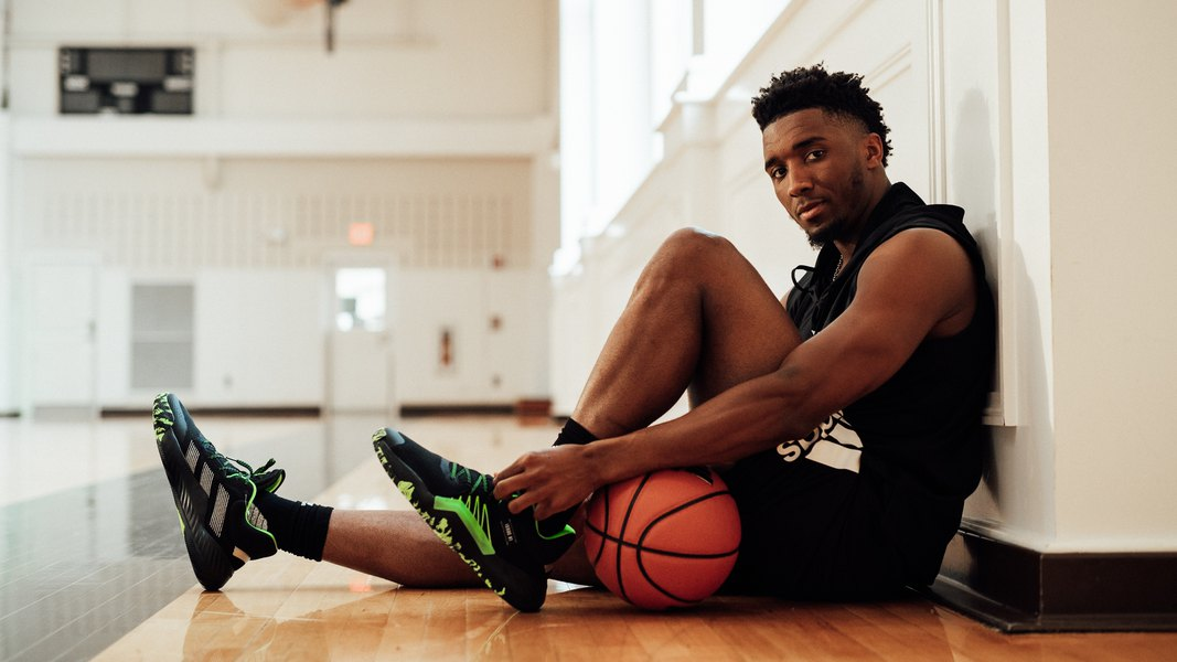 Utah's community gives Donovan Mitchell a slice of normal