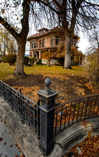 (Steve Griffin | The Salt Lake Tribune) The Fisher Mansion in Salt Lake City, pictured Wednesday, Nov. 8, 2017.